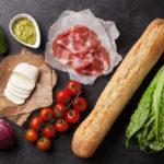 Tomate Mozarella Brot